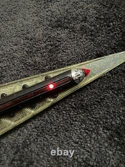 100% complete DX Power Rangers Time Force Chrono Saber roleplay cosplay Weapon