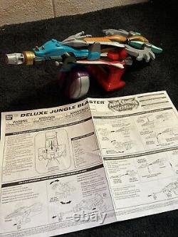 100% complete DX Power Rangers Wild Force Jungle Blaster roleplay cosplay Weapon