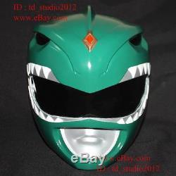 11 Halloween Costume Cosplay Mask Mighty Morphin Green Power Ranger Helmet PR03