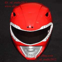 11 Halloween Costume Cosplay Mask Mighty Morphin Red Power Ranger Helmet PR02