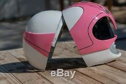 11 Wearable Mighty Morphin Pink Power Ranger Cosplay Helmet (stunt casted)