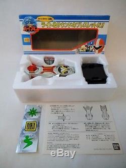 1990 Bandai Japan Sentai Fiveman Morpher Cosplay Set NMIB Pre MMPR Power Rangers