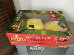 1994#bandai Power Rangers Costume Cosplay Yellow Ranger Giochi Preziosi