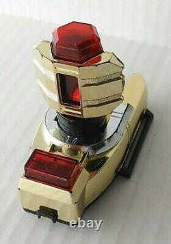 1996 Bandai Power Rangers GOLD ZEO POWER CRYSTAL Zeonizer Morpher Cosplay