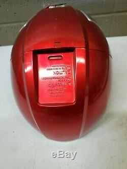 2007 Bandai Power Rangers Overdrive Red Ranger Electronic Helmet Cosplay (f32)