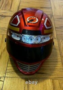 2007 Power Rangers Operation Overdrive Rare Mission Helmet Cosplay Lights Sounds