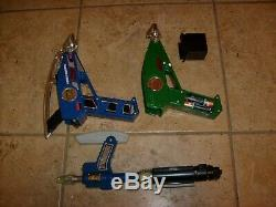 2 Power Rangers Lost Galaxy Space Astro Laser Quadro Blaster Cosplay Loose