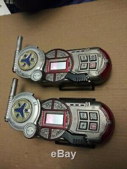 2x Power Rangers Lightspeed Rescue 99 MORPHER WORKS! No Strap Cosplay Sounds