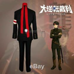 Ace Attorney Kazuma Asgi Kazuma Asogi Cosplay Costume