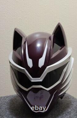 Aniki Cosplay Jungle Fury Wolf Ranger Helmet
