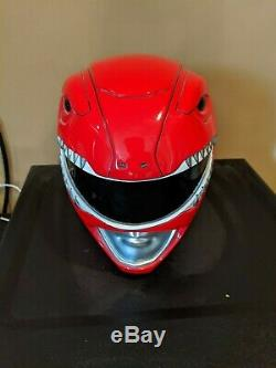 Aniki Cosplay MMPR Red Ranger Helmet Used(Primarily for Cosplay)
