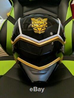 Aniki Cosplay Power Rangers Megaforce Goseiger Black Helmet