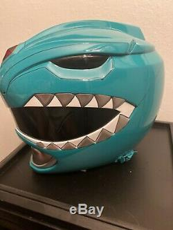 Aniki Cosplay Power Rangers Ranger Helmet Green Ranger Helmet