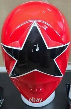 Aniki Cosplay Red Zeo Ranger 5 Power Rangers Zeo Helmet Prop Ohranger