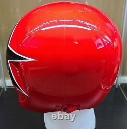 Aniki Cosplay Red Zeo Ranger 5 Power Rangers Zeo Helmet Prop Ohranger READ DESC
