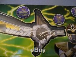 (Autographed) Power Rangers Legacy WHITE RANGER'S SABA SWORD REPLICA COSPLAY