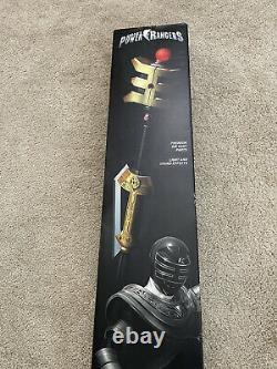 Autographed Power Rangers Legacy Zeo GOLD POWER STAFF PROP REPLICA COSPLAY