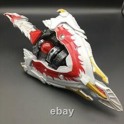 BANDAI Power Rangers KYURANGER DX HOUOH BLADE SHIELD PHOENIX Henshin Cosplay