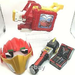 BANDAI Power Rangers ZYUOHGER DX Zyuoh changer the Light Mask Whale change Gun
