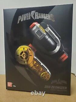 BRAND NEW Power Rangers Zeo Legacy Zeonizer Morpher Bandai