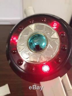Bandai 5 Power Rangers Combining Laser Gun Blaster Cannon Weapon Cosplay Playset