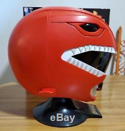 Bandai Legacy Red Power Ranger Helmet 11 Scale Cosplay