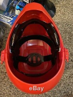 Bandai Legacy Red Ranger Helmet 11 Mighty Morphin Power Rangers MMPR Cosplay