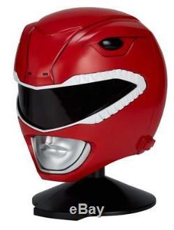 Bandai Legacy Red Ranger Helmet POWER RANGERS Full Size 11 MIB Cosplay Costume