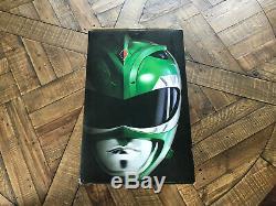 Bandai Mighty Morphin Power Rangers Legacy Green Ranger Helmet 11 MMPR Cosplay