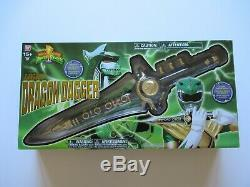 Bandai Mmpr Power Rangers Legacy Dragon Dagger Green Ranger Cosplay Sealed