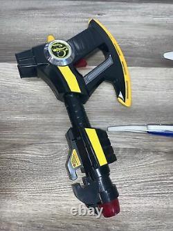 Bandai Power Rangers Cos Play Weapons Lot Axe Dragon Dagger