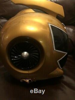 Bandai Power Rangers Mighty Morphin Power Rangers Rpm Gold Ranger Helmet Cosplay