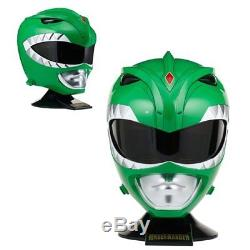 Bandai Power Rangers NEW Legacy Green Helmet Cosplay 11 Mighty Morphin