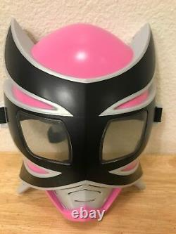 Bandai Power Rangers Samurai Child's Youth Dress Up Cosplay Pink Ranger Mask