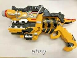 Beast power squadron Kyoryuger toy set Power Rangers Cosplay Collection USED