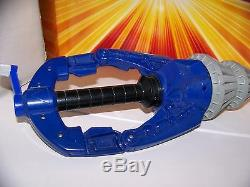 Big bad Beetleborgs Blue Stinger Drill Role Play Cosplay Vintage Bandai MMPR
