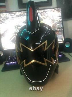 Black DinoThunder Helmet signed by JDF (Aniki Cosplay)