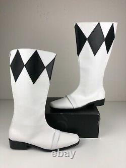 Black Power Ranger Boots, Cosplay Mighty Morphin Power Rangers Size 11 / 12