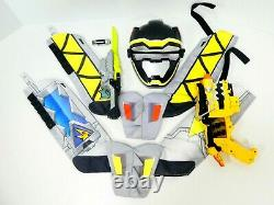Black Ranger Power Rangers Dino Super Charge Cosplay Hero Set Morpher Blaster