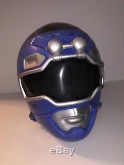 Blue Turbo Power Rangers Exact Replica Helmet Cosplay