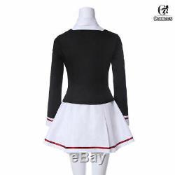 Cardcaptor Sakura Tomoyo Outfit Junior High School Uniform Dress Cosplay Costume