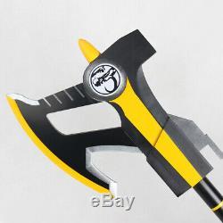 Cosplay Prop 25 Black Ranger Power Axe PVC