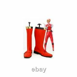 Cosplay Shoes Super Sentai Series Power Ranger Boots Order Size Can Be