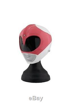 Cosplay helmet Pink POWER RANGER mighty morphine costume halloween MMPR