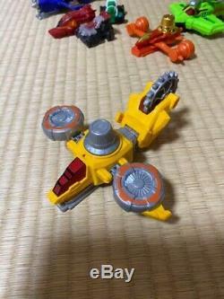 DHL First ship vintage Power Rangers Lupine Ranger VS Patranger cosplay set rare