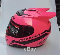 DOT Mask Rider, Power Ranger Stlye Cosplay Motorcycle Helmet Full Face Bikers