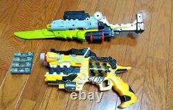 Dino Charge DX Gabu Revolver & Caliber Kyoryuger bandai Power rangers Cosplay