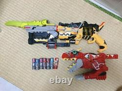 Dino Kyoryuger DX Gabutyra Gaburicalibur set Power Rangers Revolver Cosplay USED