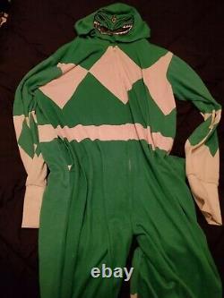 Discontinued Green Ppwer Ranger bodysuit pajama kigurumi cosplay $100