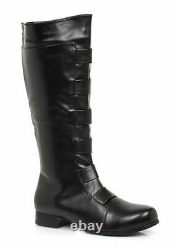 Ellie Shoes 121-MARC Men's Size 1 Inch Heel Knee High Boots